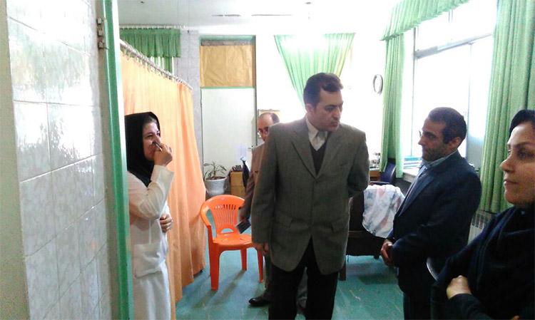بازدید سرزده سرپرست دانشگاه  علوم پزشکی بابل از مرکز  آموزشی درمانی ناباروری فاطمه الزهرا (س